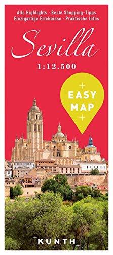 EASY MAP Sevilla: 1:12.500 (KUNTH EASY MAP / Reisekarten)