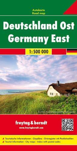 Deutschland Ost, Autokarte 1:500.000 (freytag & berndt Auto + Freizeitkarten)