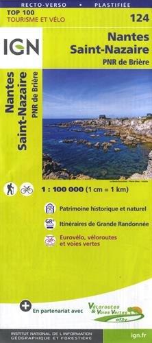 Nantes Saint-Nazaire 1:100 000: PNR de Brière