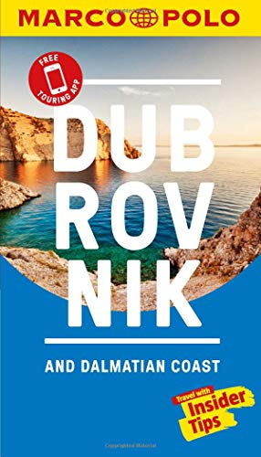 Dubrovnik & Dalmatian Coast Marco Polo Pocket Travel Guide 2019 - with pull out map (Marco Polo Guide)