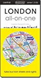 London All-on-One: Tube, Bus, Train, Walking and Sights (City Quickmaps)