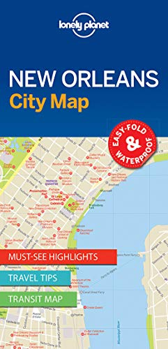 Lonely Planet New Orleans City Map (Lonely Planet City Maps)