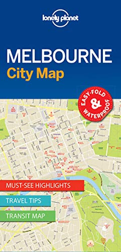 Lonely Planet MelbourneCity Map (Lonely Planet City Maps)