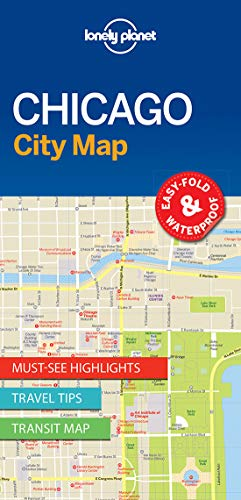 Lonely Planet Chicago City Map (Lonely Planet City Maps)