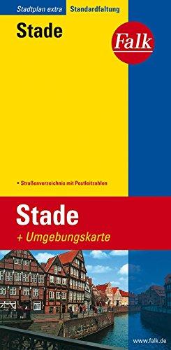 Falk Stadtplan Extra Standardfaltung Stade