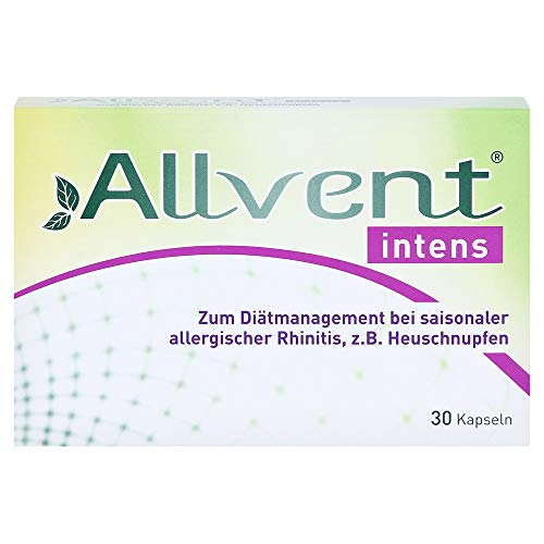 Allvent intens Kapseln bei saisonaler allergischer Rhinitis, 30 St. Kapseln