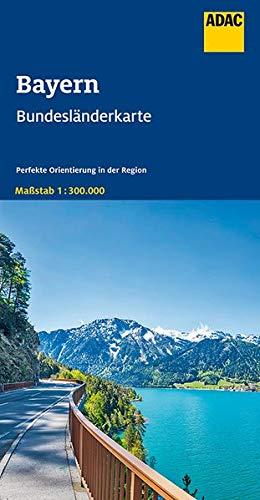 ADAC BundesländerKarte Deutschland Blatt 12 Bayern 1:300 000 (ADAC BundesländerKarten Deutschland)