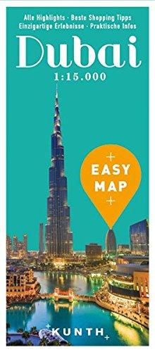 EASY MAP Dubai: 1:15.000/1:100.000 (KUNTH EASY MAP / Reisekarten)
