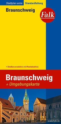 Falk Stadtplan Extra Standardfaltung Braunschweig