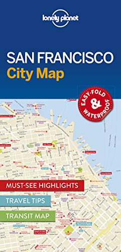 Lonely Planet San Francisco City Map (Lonely Planet City Maps)