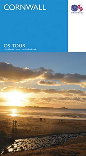 Ordnance Survey Touring Map Cornwall 1:100000 (OS Tour Map)