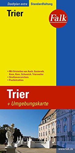 Falk Stadtplan Extra Standardfaltung Trier