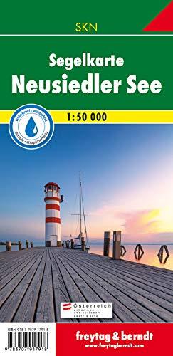 Neusiedler See, Segelkarte 1:50.000 (Freytag und Berndt Wanderkarten Deutschland (WKD))