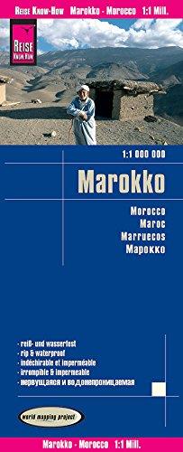 Reise Know-How Landkarte Marokko (1:1.000.000): world mapping project