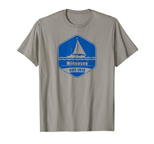 Möhnesee SEGELN Westfälisches Meer Soest Urlaub Reise Sport T-Shirt