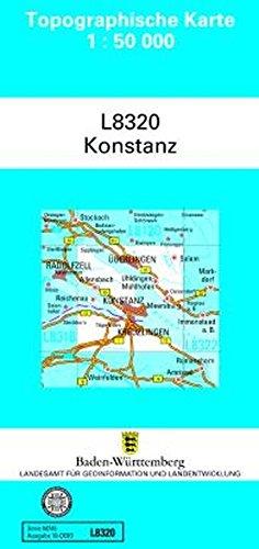 L8320 Konstanz: Zivilmilitärische Ausgabe TK50 (Topographische Karte 1:50 000 (TK50))