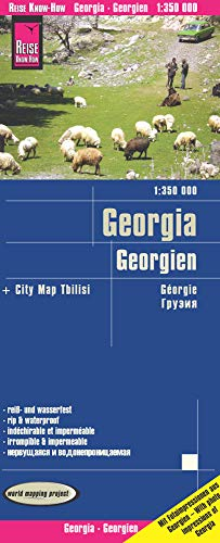 Reise Know-How Landkarte Georgien / Georgia (1:350.000): world mapping project