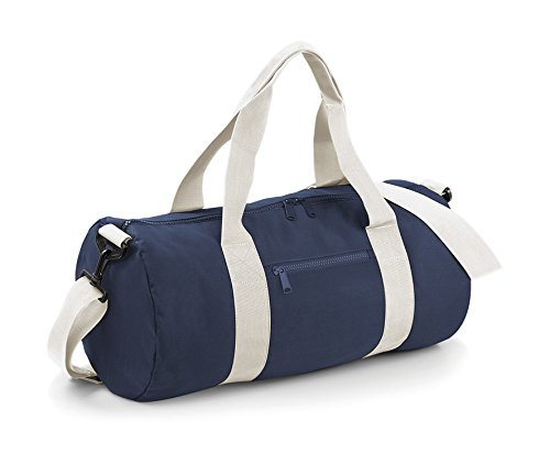 Bagbase Seesack / Reisetasche, 20 Liter One Size,Marineblau/Naturweiß