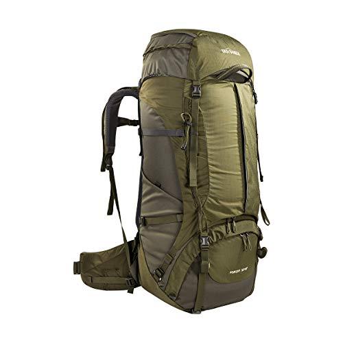 Tatonka Yukon 70+10 - Trekkingrucksack mit leistungsstarkem Tragesystem - für Herren und Damen - 80 Liter - olive