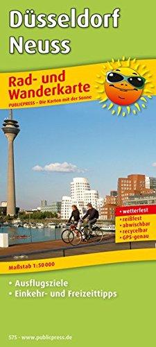 Düsseldorf - Neuss: Rad- und Wanderkarte mit Ausflugszielen, Einkehr- & Freizeittipps, wetterfest, reißfest, abwischbar, GPS-genau. 1:50000 (Rad- und Wanderkarte / RuWK)