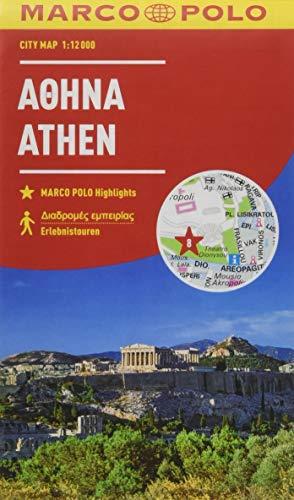 MARCO POLO Cityplan Athen 1:12000 (MARCO POLO Citypläne)