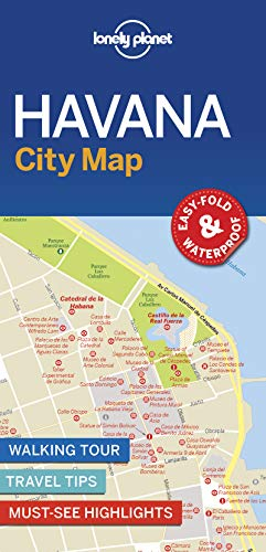 Lonely Planet Havana City Map (Lonely Planet City Map)