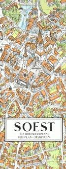 Stadtplan Soest in 3D von Bollmann