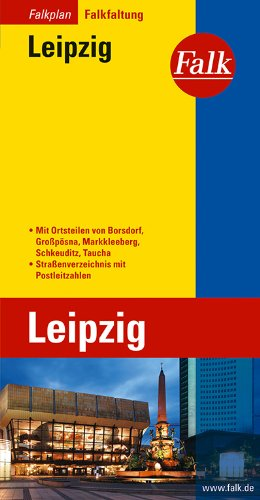 Falkplan Falk-Faltung Leipzig