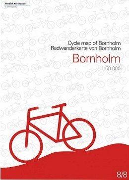 Bornholm Radwanderkarte (Dänemark) 1:50.000 Bl. 8/8