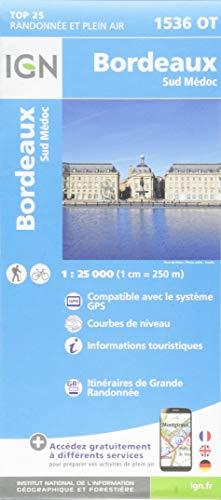Bordeaux.Sud Médoc 1:25 000