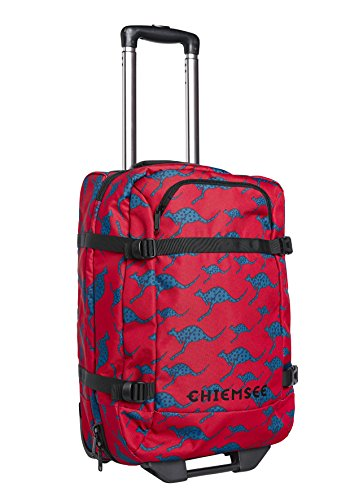 Chiemsee Bags Collection Koffer, 54 cm, 2645 Dark Red/M Blue