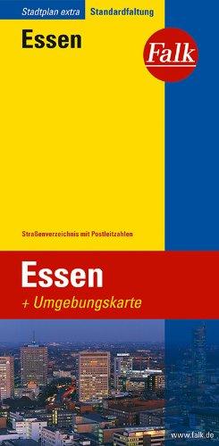 Falk Stadtplan Extra Standardfaltung Essen