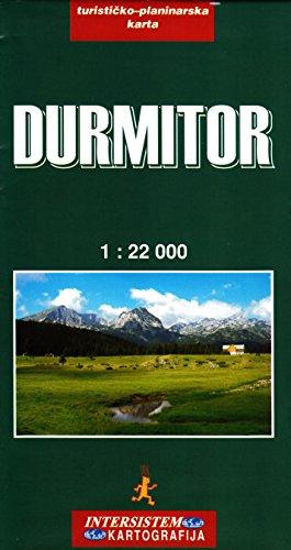 Durmitor NP (Montenegro) 1:22.000 Wanderkarte Intersistem