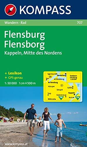 Flensburg - Kappeln, 1 : 50 000: Wandern / Rad