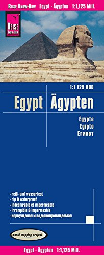 Reise Know-How Landkarte Ägypten (1:1.125.000): world mapping project