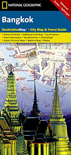 Bangkok (National Geographic Destination City Map)
