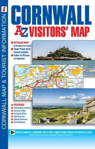 Cornwall Visitors Map (A-Z Visitors Map)