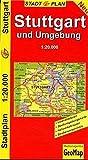 GeoMap Stadtpläne, Stuttgart und Umgebung