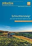 Wanderführer Schluchtensteig: Quer durch den Naturpark Südschwarzwald, 6 Etappen, 119 km, 1:35.000 (Hikeline /Wanderführer)