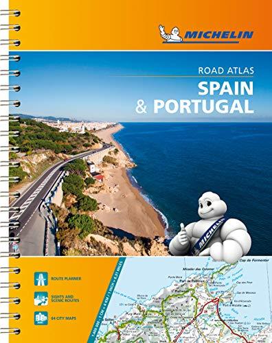 Michelin Straßenatlas Spanien & Portugal mit Spiralbindung (MICHELIN Atlanten)