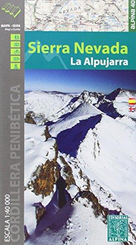 Sierra Nevada Wanderkarte 1 : 40 000 (Mapa Y Guia Excursionista)