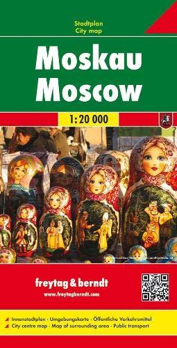 Moskau, Stadtplan 1:20.000: Stadskaart 1:20 000
