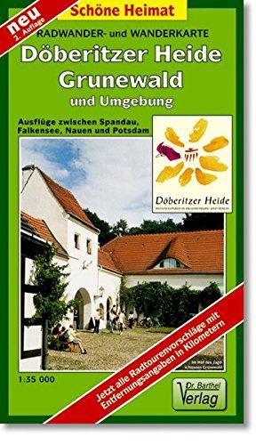 Radwander- und Wanderkarte Döberitzer Heide, Grunewald und Umgebung: Ausflüge zwischen Spandau, Falkensee, Nauen und Potsdam. 1:35000 (Schöne Heimat)