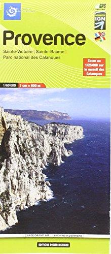 Libris Wanderkarte 14 Provence 1 : 60 000: Maßstab: 1:60 000
