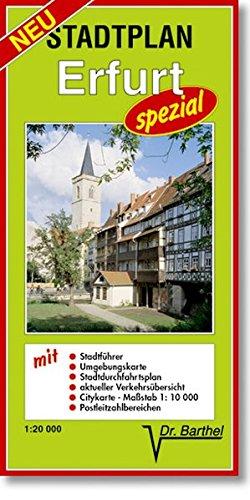 Stadtplan Erfurt - spezial: Maßstab 1:20000