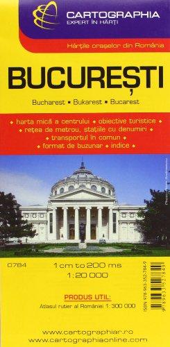 Cartographia Karte Bukarest; Bucuresti; Bucharest; Bucarest (City Map)