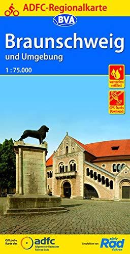 ADFC-Regionalkarte Braunschweig und Umgebung, 1:75.000, reiß- und wetterfest, GPS-Tracks Download (ADFC-Regionalkarte 1:75000)