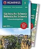 KOMPASS Wanderführer Sächsische Schweiz, Böhmische Schweiz, Elbsandsteingebirge: Wanderführer mit Extra-Tourenkarte, 60 Touren, GPX-Daten zum Download