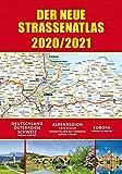 Straßenatlas 2020/2021 für Deutschland und Europa: Deutschland - Österreich - Schweiz