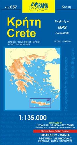 Crete  1 : 135 000: Kreta
